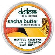 """Voňavky, Parfémy, kozmetika Maslo na tvár a telo """"Mango-papája"""" - Dottore Sacha Butter Mango-Papaya"""