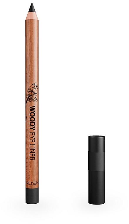 Vodeodolná ceruzka na oči - Gosh Woody Eye Liner