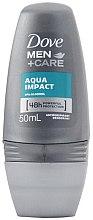 Voňavky, Parfémy, kozmetika Guľôčkový antiperspirant pre mužov - Dove Aqua Impact 48h Deo Roll-On