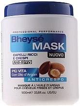 Maska s arganovým olejom na kučeravé vlasy - Renee Blanche Bheyse Maschera Capelli Ricci e Crespi — Obrázky N1