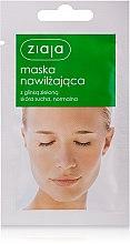 """Voňavky, Parfémy, kozmetika Maska na tvár """"Zvlhčujúci"""" so zeleným ílom - Ziaja Face Mask"""