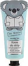 Voňavky, Parfémy, kozmetika Krém na nohy - Marion Dr Koala Foot Cream