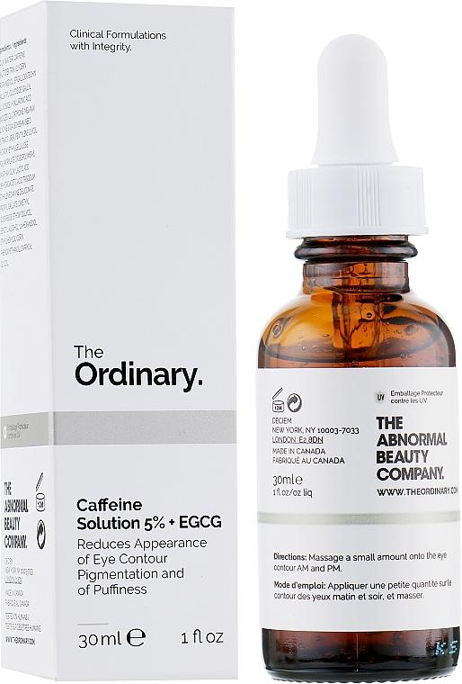 Sérum na pokožku okolo očí - The Ordinary Caffeine Solution 5% + EGCG