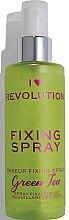 Voňavky, Parfémy, kozmetika Sprej upevňujúci make-up - I Heart Revolution Fixing Spray Green Tea