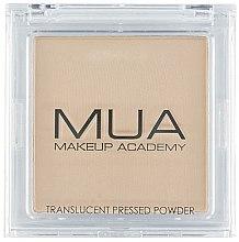 Voňavky, Parfémy, kozmetika Priehľadný prášok na tvár - MUA Translucent Pressed Powder