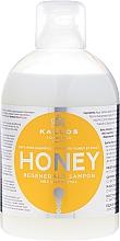 Voňavky, Parfémy, kozmetika Regeneračný šampón s extraktom z medu - Kallos Cosmetics Honey Shampoo