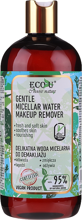 Micelárna voda - Eco U Choose Nature Gentle Micellar Water