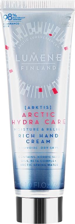 Hydratačný krém na ruky - Lumene Arctic Hydra Care Moisture & Relief Rich Hand Cream