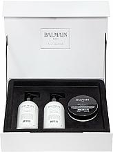 Voňavky, Parfémy, kozmetika Sada - Balmain Paris Hair Couture Moisturizing Care Set (shm/300ml + cond/300ml + mask/200ml)
