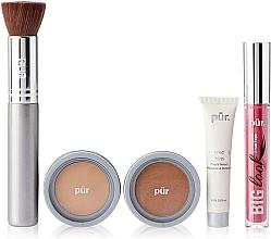 Voňavky, Parfémy, kozmetika Sada - Pur Minerals Best Sellers Starter Kit Light Tan (primer/10ml+found/4.3g+bronzer/3.4g+mascara/5g+brush)