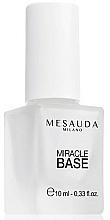 Voňavky, Parfémy, kozmetika Báza na predĺženie trvanlivosti laku - Mesauda Miracle Base 116