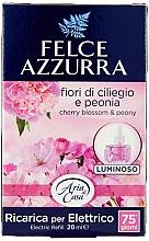 Voňavky, Parfémy, kozmetika Elektrický difúzor - Felce Azzurra Peony & Cherry Blossom (vymeniteľná jednotka)
