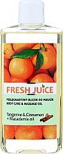 """Voňavky, Parfémy, kozmetika Olej pre starostlivosť a masáž """"Mandarín a škorica + Makadamiový olej"""" - Fresh Juice Energy Tangerine&Cinnamon+Macadamia Oil"""