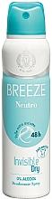 Voňavky, Parfémy, kozmetika Breeze Deo Spray Neutro 48h - Dezodorant na telo