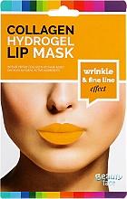 Voňavky, Parfémy, kozmetika Kolagénová hydrogélová maska na pery - Beauty Face Collagen Hydrogel Lip Mask Wrinkle Smooth Effect
