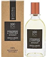 Voňavky, Parfémy, kozmetika 100BON Gingembre & Vetiver Sensuel Concentre - Parfumovaná voda