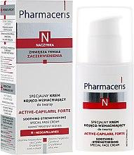 Voňavky, Parfémy, kozmetika Špeciálny upokojujúci spevňujúci krém na tvár - Pharmaceris N Active-Capilaril Forte Cream