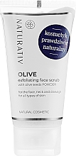 Voňavky, Parfémy, kozmetika Olivový peeling na tvár - Naturativ Olive Exfolianting Face Scrub
