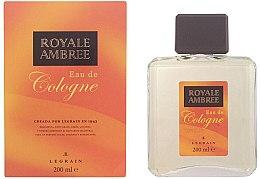 Voňavky, Parfémy, kozmetika Legrain Royale Ambree - Kolínska voda