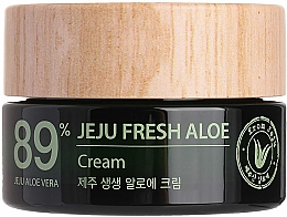 Voňavky, Parfémy, kozmetika Hydratačný osviežujúci krém so šťavou z aloe vera 89% - The Saem Jeju Fresh Aloe Cream
