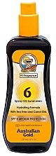 Voňavky, Parfémy, kozmetika Sprej -olej na opaľovanie - Australian Gold Tea Tree&Carrot Oils Spray SPF6