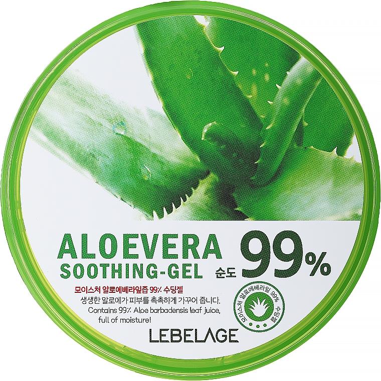 Hydratačný gél s aloe - Lebelage Moisture Aloe Vera 99% Soothing Gel