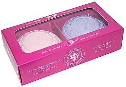 """Voňavky, Parfémy, kozmetika Mydlová sada """"Rose and Lavender"""" - Gori 1919 Floreal Rose & Lavender (soap/2 x 150 g)"""