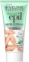 Voňavky, Parfémy, kozmetika Depilačný krémový gél s chladivým účinkom - Eveline Cosmetics Smooth Epil