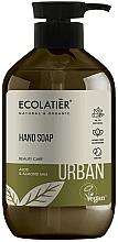 "Voňavky, Parfémy, kozmetika Tekuté mydlo na ruky ""Aloe a mandľové mlieko"" - Ecolatier Urban Liquid Soap"