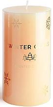 Voňavky, Parfémy, kozmetika Vonná sviečka, krémová, 9x8cm - Artman Winter Glass