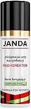 """Voňavky, Parfémy, kozmetika Korekčný krém """"Červený korektor"""" na tvár - Janda Corrector Capillary Skin Cream"""