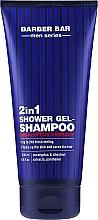 Voňavky, Parfémy, kozmetika Sprchový gélový šampón 2v1 pre mužov - Barber.Bar Men Series 2in1 Shower Gel-Shampoo