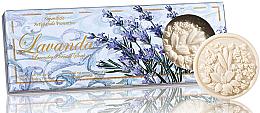 """Voňavky, Parfémy, kozmetika Sada mydla """"Levanduľa """" - Saponificio Artigianale Fiorentino Lavender Soap"""