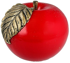 Voňavky, Parfémy, kozmetika Parafínová dekoratívna sviečka Jablko, 12 cm, červená - Artman
