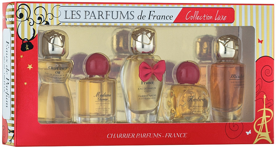 Charrier Parfums Collection Luxe - Sada (edp/9.4ml+edp/9.3ml+edp/12ml+edp/8.5ml+edp/9.5ml)