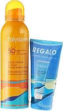 Voňavky, Parfémy, kozmetika Sada - Klorane Polysianes (spray/150ml + sh/shm/75ml)