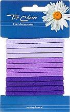 Voňavky, Parfémy, kozmetika Gumičky na vlasy 12 ks, 21138 - Top Choice