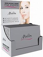 Voňavky, Parfémy, kozmetika Sada matných utierok s púdrom na tvár, 4ks + 1 - Marion Mat Express