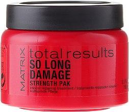 Voňavky, Parfémy, kozmetika Intenzívna maska pre vlasy - Matrix Total Results So Long Damage Mask