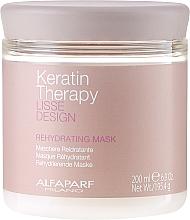 Voňavky, Parfémy, kozmetika Vlasová maska, hydratačná - Alfaparf Lisse Design Keratin Therapy Rehydrating Mask
