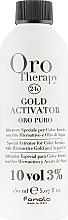 Voňavky, Parfémy, kozmetika Oxidačné činidlo s mikročasticami zlata 3% - Fanola Oro Gold