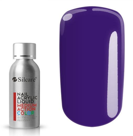 Akryl na nechty - Silcare Nail Acrylic Liquid Medium Action Color