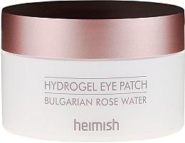 Voňavky, Parfémy, kozmetika Hydrogélové očné náplasti s bulharským ružovým extraktom - Heimish Bulgarian Rose Hydrogel Eye Patch