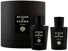 Voňavky, Parfémy, kozmetika Acqua di Parma Sandalo - Sada (edp/100ml+sh/gel/200ml)