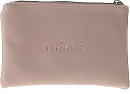 """Voňavky, Parfémy, kozmetika Kozmeticka taška """"Leather"""", 96969, béžová - Top Choice"""