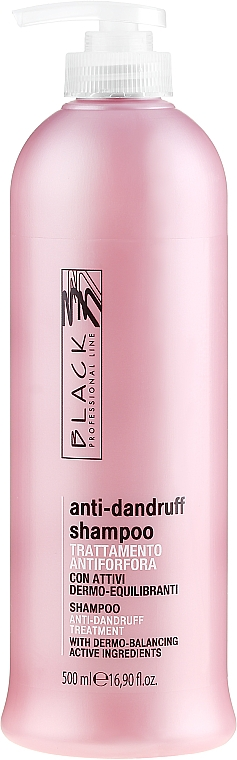 Šampón proti lupinám - Black Professional Line Anti-Dandruff Shampoo