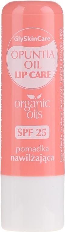 Balzam na pery s organickým opunciový olej - GlySkinCare Organic Opuntia Oil Lip Care