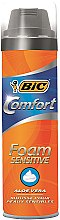 Voňavky, Parfémy, kozmetika Pena na holenie - Bic Comfort Foam Sensitive