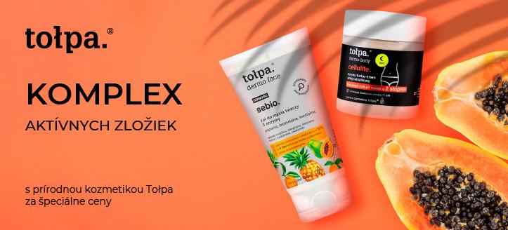 Zľavy do -30% na akciové výrobky Tołpa. Ceny na stránke sú uvedené so zľavou
