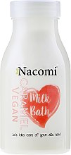 """Voňavky, Parfémy, kozmetika Kúpeľové mlieko """"Caramel"""" - Nacomi Milk Bath Caramel"""